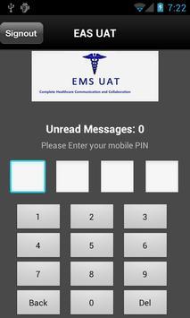 EMS UAT poster