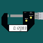 Micrometer Digital icon