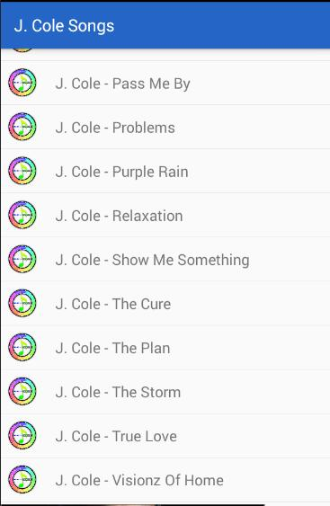 J  Cole Songs Lyrics for Android - APK Download
