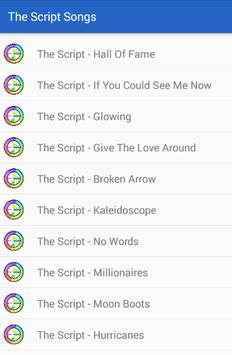 The Script Hall of Fame Songs screenshot 2