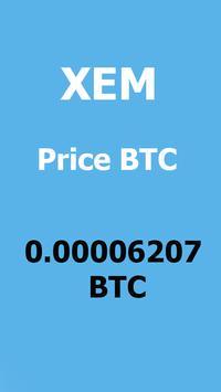 NEM - XEM Crypto price screenshot 1