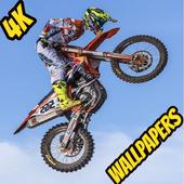Dirt Motocross Bike Wallpapers 4K icon