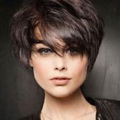 Прически на короткие волосы icon