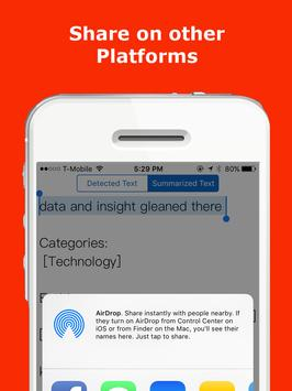 PhotoSum - Photo to Summary apk screenshot