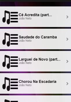 Letras João Neto e Frederico - Cê Acredita poster