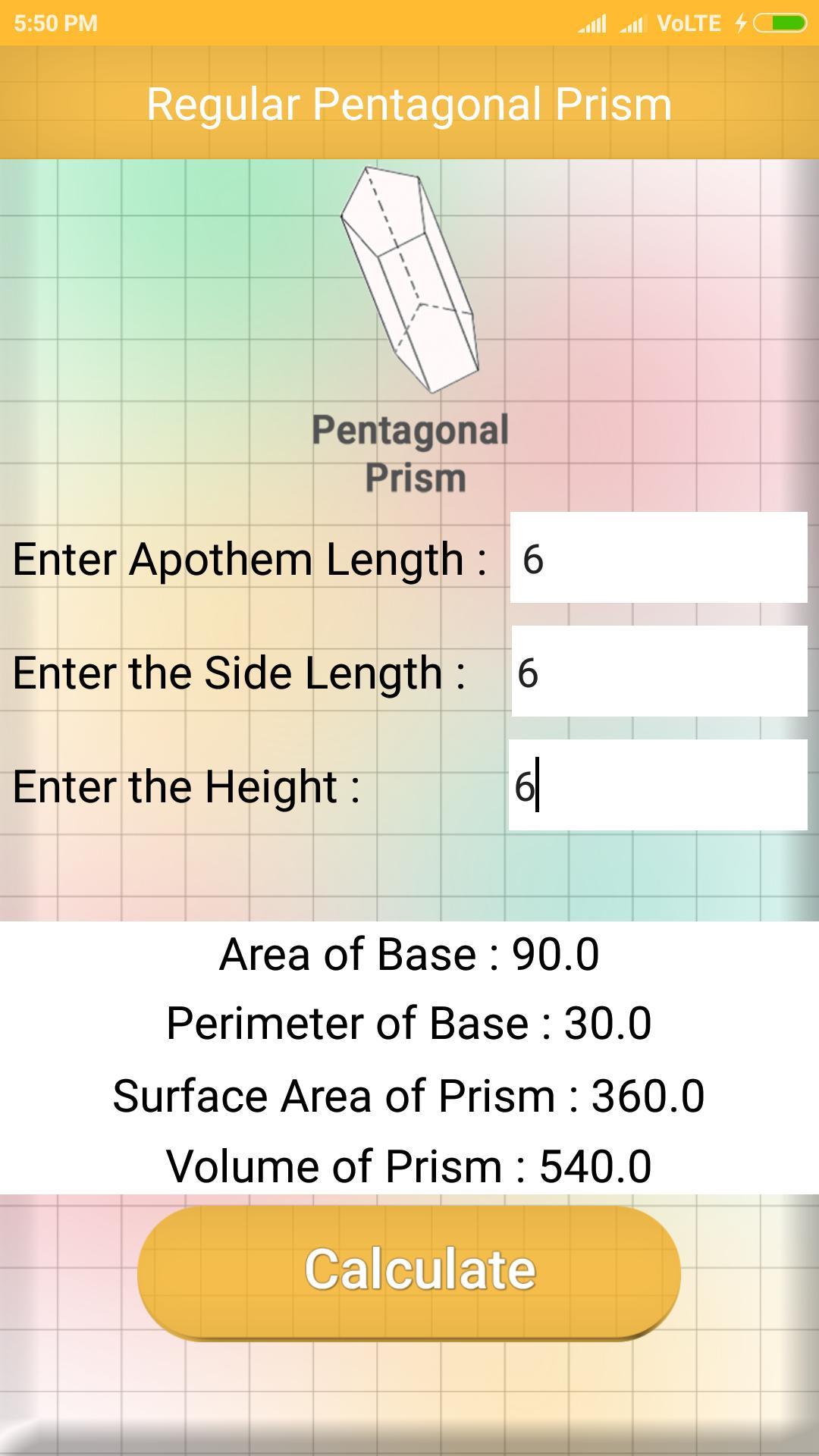 Prism Calculator poster