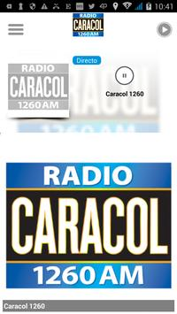Caracol 1260 poster
