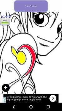 Anime Coloring Book Apk Screenshot