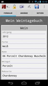 Voluptas Diarium–Weintagebuch screenshot 2