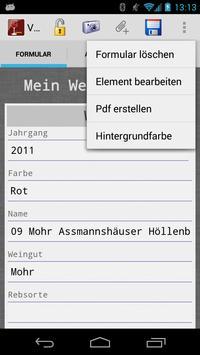 Voluptas Diarium–Weintagebuch screenshot 6