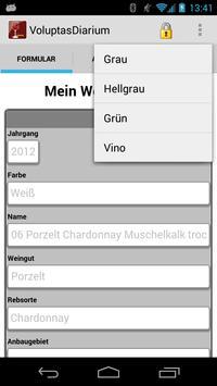 Voluptas Diarium–Weintagebuch screenshot 7