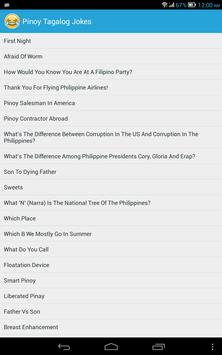 Pinoy Tagalog Jokes imagem de tela 6