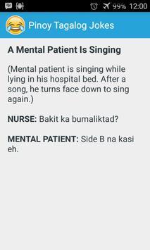 Pinoy Tagalog Jokes imagem de tela 1