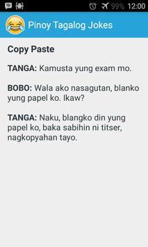 Pinoy Tagalog Jokes imagem de tela 2