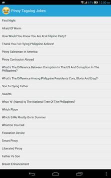 Pinoy Tagalog Jokes imagem de tela 3