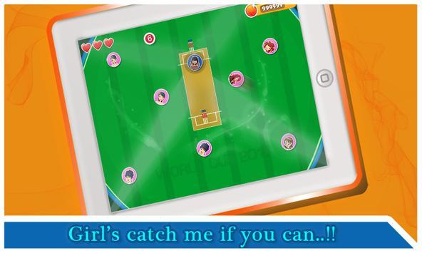 Cricket Crazy Naughty Girl's apk screenshot
