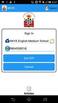 NKVS:Nav Krishna Valley School poster