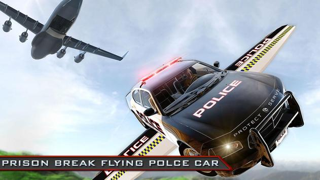 Prison Break Flying Police Car poster