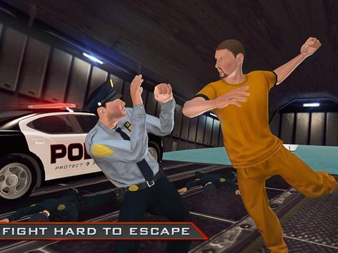 Prison Break Flying Police Car apk screenshot