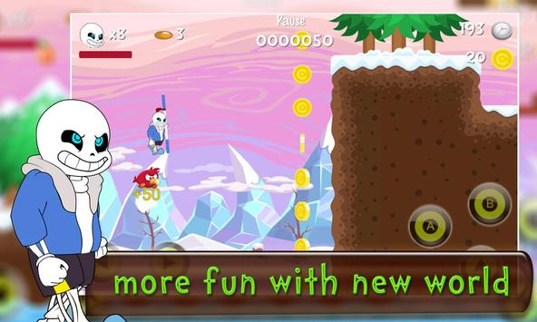 Adventure World of Sans 2 apk screenshot