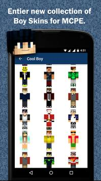 Free Boy Skins for Minecraft screenshot 1