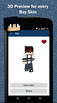 Free Boy Skins for Minecraft screenshot 2