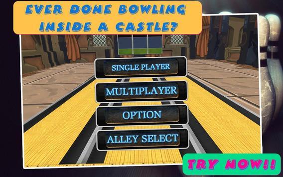 REAL BOWLING CASTLE 3D apk screenshot