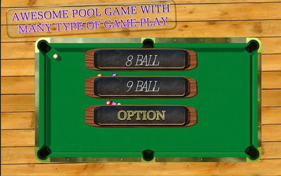 BILLIARDS POOL SLAM 3D poster