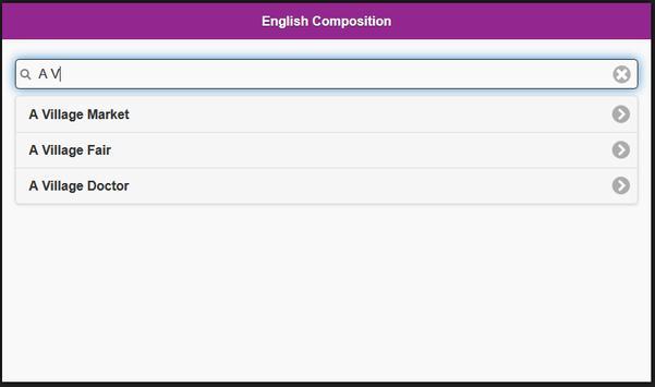 English Composition apk screenshot