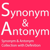 Synonym and Antonym icon