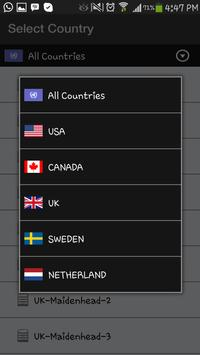 PrivacyAbroad VPN apk screenshot