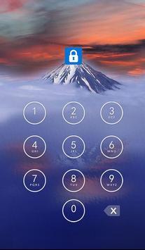 Applock Theme Mountain apk screenshot