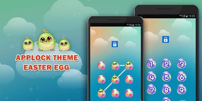 AppLock Theme Easter Egg poster