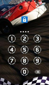 AppLock Theme Race Car screenshot 1