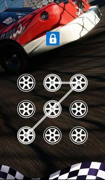 AppLock Theme Race Car screenshot 2