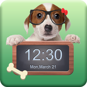 Applock Theme Dog Puppy icon