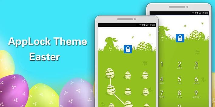 Applock Theme Easter apk screenshot