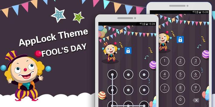 Applock Theme Fools' Day poster