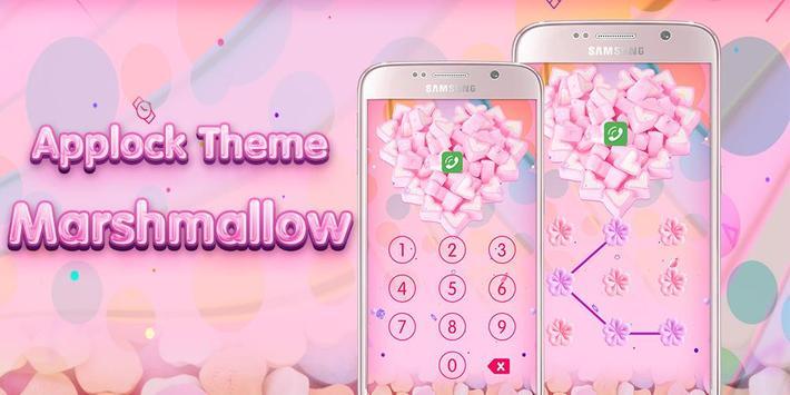 Applock Theme Marshmallow poster