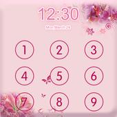 Applock Theme Pink Flower icon