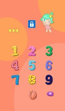 AppLock Theme Cute Baby poster