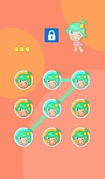 AppLock Theme Cute Baby apk screenshot