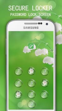 Applock Theme Blossom Flower apk screenshot