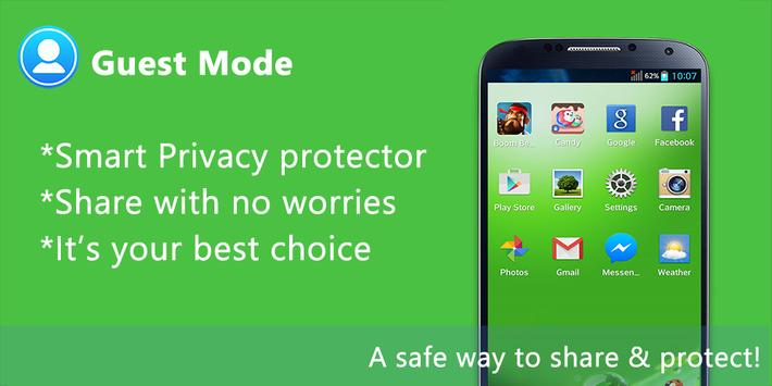 Guest Mode - AppLock Privacy apk screenshot
