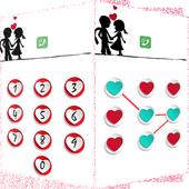 Applock Valentines lock Theme icon