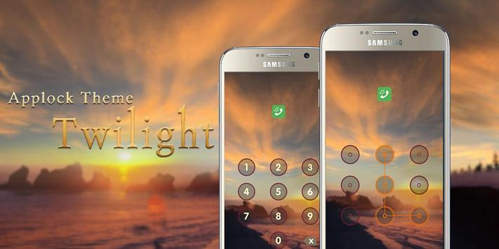 Applock Theme Twilight apk screenshot