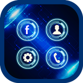 Technology Theme Applock icon