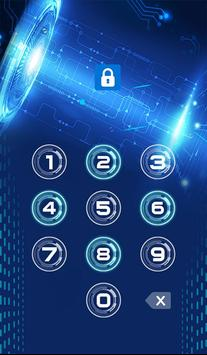 Technology Theme Applock screenshot 1