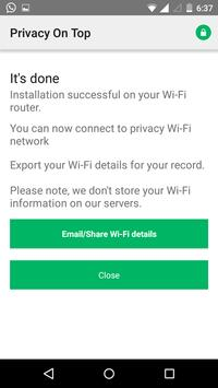 Privacy On Top apk screenshot