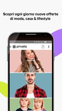 Schermata apk Privalia - Outlet con i migliori marchi di moda